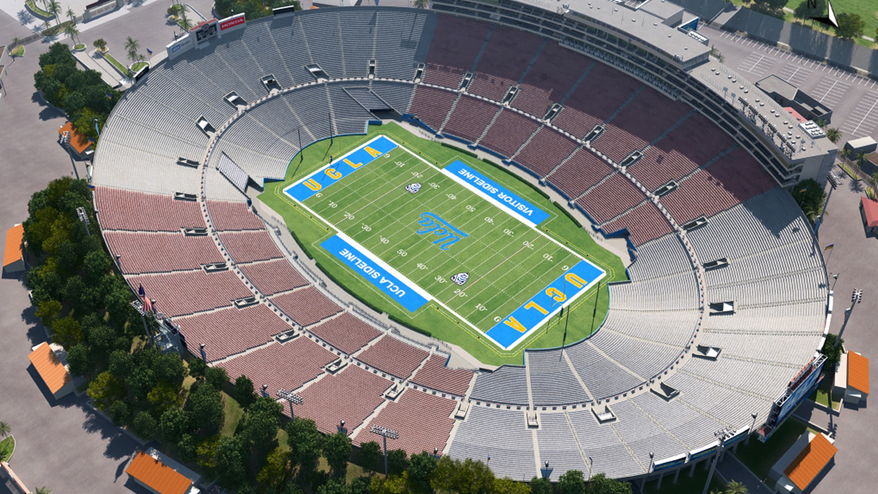 Ucla Football Virtual Venue By Iomedia
